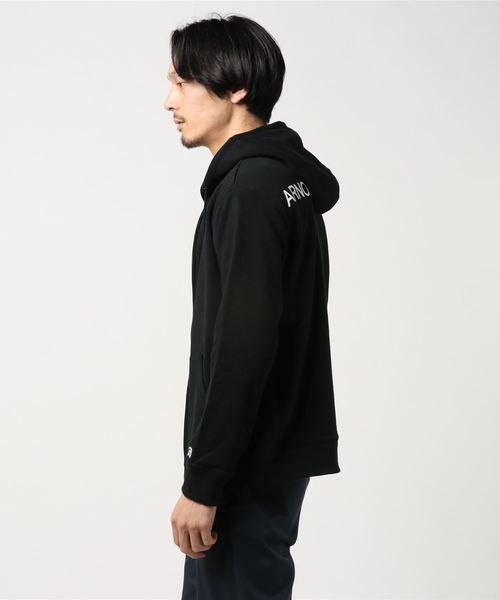 【店舗限定アイテム】バックロゴプリントジップアップパーカー(Men's)