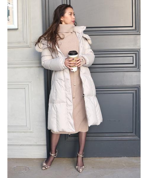 【即納&大特価】 シャーリングロングダウンコート(ダウンジャケット/コート)|ROYAL ROYAL PARTY(ロイヤルパーティー)のファッション通販, 西海橋物産館:90d3b168 --- 5613dcaibao.eu.org