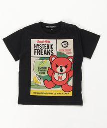HYSTERIC FREAKS pt Tシャツ【XS/S/M】ブラック