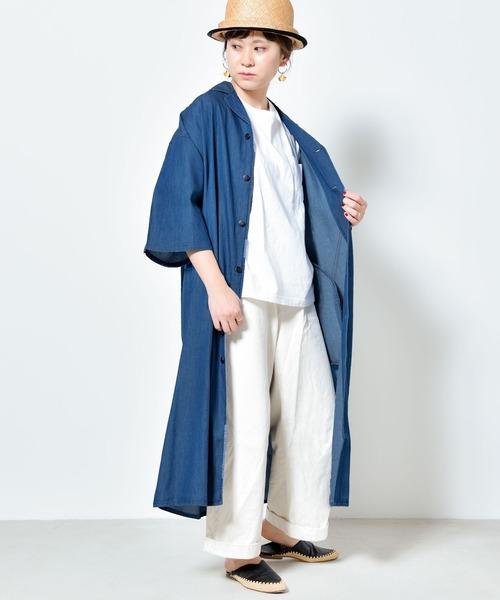 【folka(フォルカ)2021SS新作】ロングシャツ