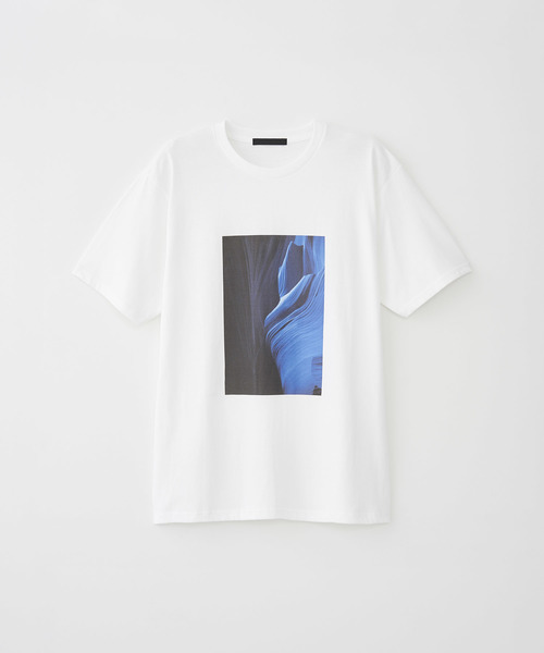 'AGE OF THE BLUE' PRINT T-SHIRT