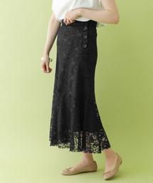 ITEMS URBANRESEARCH(アイテムズ アーバンリサーチ)のキリカエレーススカート(スカート)