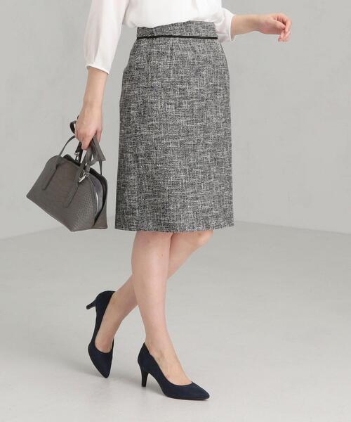 [ラメツイード] ◆D タイト スカート ◇No02◇