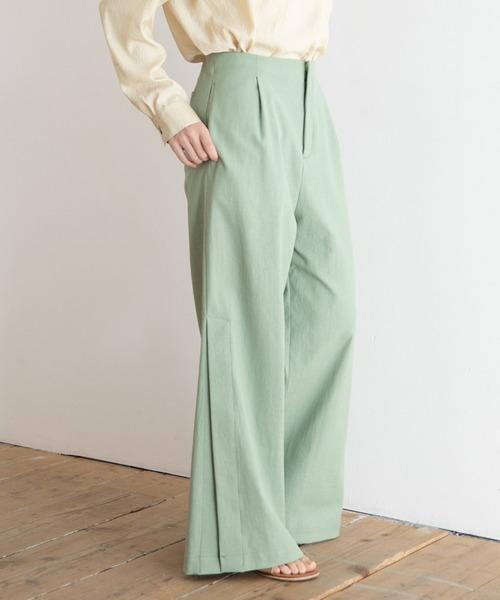 【25%OFF】 ドライタッチオックス ワイドフレアパンツ【セットアップ可】(パンツ) Munich(ミューニック)のファッション通販, ミナミフラノチョウ:adae877e --- wiratourjogja.com