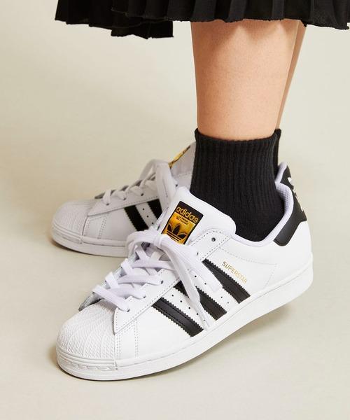 adidas(アディダス)の「スーパースター [Superstar] アディダスオリジナルス(スニーカー)」|ホワイト×ブラック