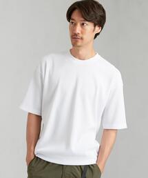 デオセル ワッフル スウェット クルーネック 半袖 Tシャツ < 機能性 / 吸水速乾 ・ 消臭 >