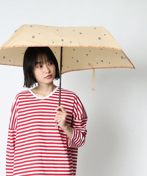 【 CONVERSE / コンバース 】雨晴兼用折りたたみ傘 CON-ST-55M OGW ・・  アンブレラ