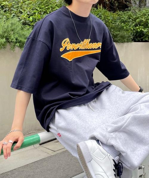 【KOOKY'N/クーキー】 スタジアムカレッジ刺繍TEE