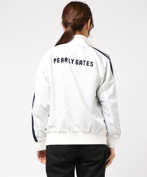 【PEARLY GATES】TUFLEX ドビークロス フルジップジャケット