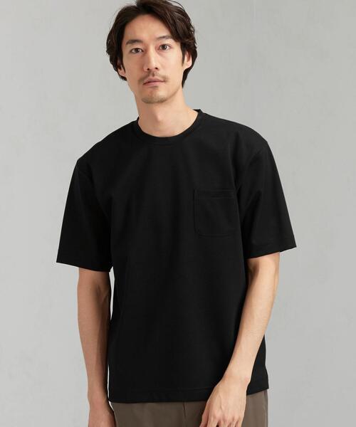 CM ハイゲージ ポンチ クルーネック 半袖 Tシャツ カットソー