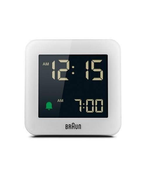 BRAUN Digital Alarm Clock BC09W