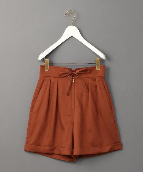 <6(ROKU)>LACE UP SHORT PANTS/ショートパンツ