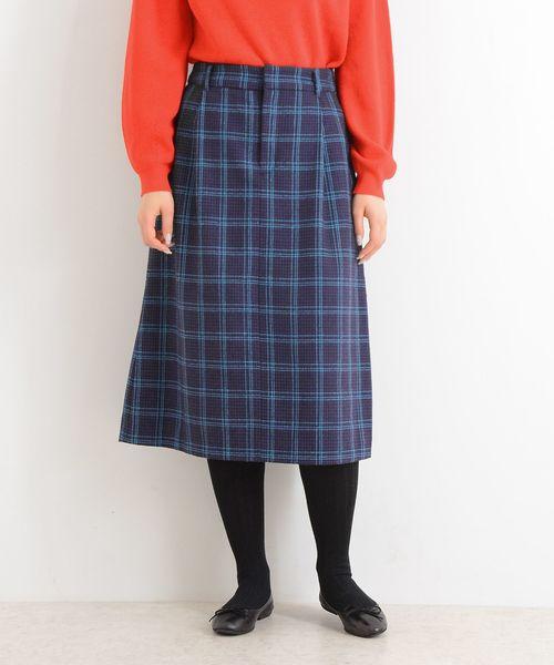 割引 【セール】フラノ MARINE/チェック スカート(スカート)|LA MARINE セール,SALE,LA FRANCAISE(マリン フランセーズ)のファッション通販, AXEE:bdb676ed --- skoda-tmn.ru