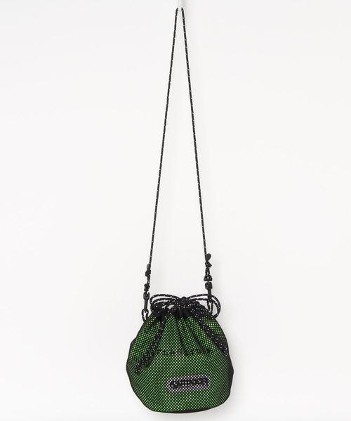 FLAGSTUFFショルダーバッグ FSOD-03 巾着バッグ 耐久性撥水性に優れたCORDURAナイロン生地使用