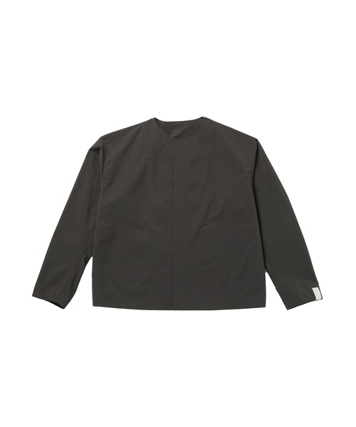 FALL2020 COLLARLESS BLOUSON