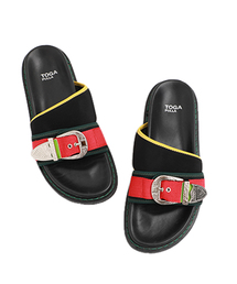 TOGA PULLA(トーガ プルラ)の【TOGA PULLA】Metal buckle sandals TP91-AJ952(サンダル)