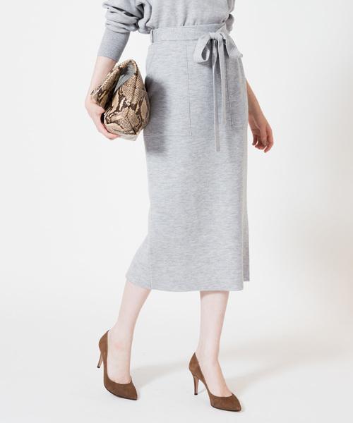 2019人気新作 ウールスムースパッチポケットタイトスカート(スカート)|allureville(アルアバイル)のファッション通販, みのるオンライン:83f5dc2f --- ulasuga-guggen.de