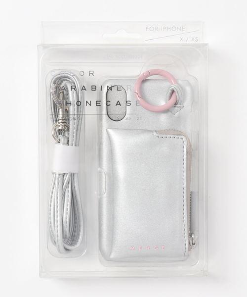en recre(アンレクレ)の「【ACCOMMODE】iPhoneケース(モバイルケース/カバー)」|シルバー