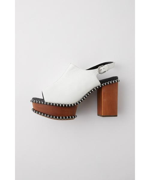 驚きの安さ WOODEN SOLE SOLE SABOT(サンダル)|MOUSSY(マウジー)のファッション通販, ボンボン製菓オンラインショップ:a7a55b01 --- munich-airport-memories.de
