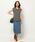 BARNYARDSTORM(バンヤードストーム)の「BARNYARDSTORM / ウエストリブタイトスカート(スカート)」|詳細画像
