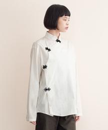 MERLOT IKYU(メルローイキュウ)のチャイナシャツ079-7269(シャツ/ブラウス)