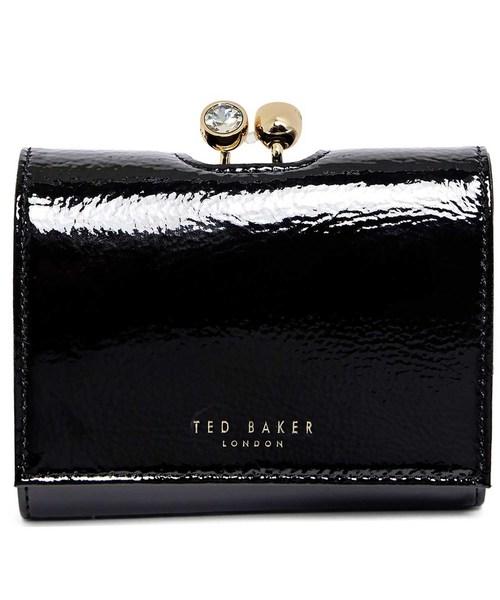 Ted Baker(テッドベーカー)の「EMEEY がま口3つ折り財布(財布)」 ブラック