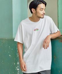 VANS/ヴァンズ Neon OTW S/S T-Shirt ネオンオフザウォールプリント半袖Tシャツホワイト