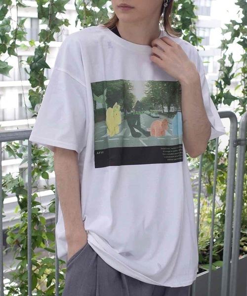 AFYF(エーエフワイエフ)の「AFYF GILDAN BODY PREMIUM SOUVENIR T2/オーバーサイズ ギルダン ボディ プレミアムスーベニア Tシャツ(Tシャツ/カットソー)」|その他22