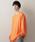 MONO-MART(モノマート)の「ビッグシルエット スーパーオーバーサイズ プルオーバースウェット2019SS(スウェット)」|オレンジ