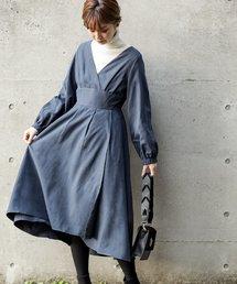 natural couture(ナチュラルクチュール)のレディカシュクールワンピ(ワンピース)