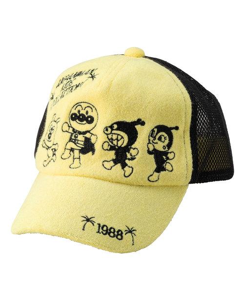 ANPANMAN KIDS COLLECTION(アンパンマンキッズコレクション)の「【アンパンマン】刺繍パイルメッシュキャップ(キャップ)」|イエロー