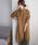 URBAN RESEARCH DOORS(アーバンリサーチドアーズ)の「コーデュロイシャツワンピース(ワンピース)」|キャメル