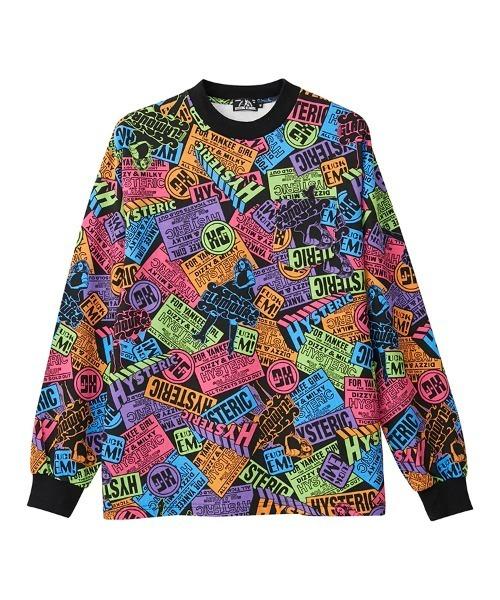YANKEE GIRL柄 ポケット付きTシャツ