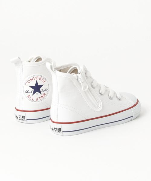 キッズ converse コンバース 16-22CD AS N HUGEPATCH Z HI 32713530 WHITE