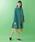 Jocomomola(ホコモモラ)の「キラリンピーチ Aラインカラーコート(ステンカラーコート)」|詳細画像