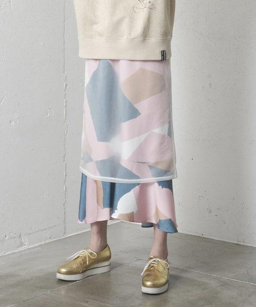 人気新品 TRANSPARENT SKIRT/トランスペアレント スカート(スカート)|mintdesigns(ミントデザインズ)のファッション通販, ペンネペンネフリーク PLUS:6853c55a --- arguciaweb.com