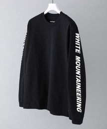 WHITE MOUNTAINEERING(ホワイトマウンテニアリング)の【White Mountaineering】ロゴプリントロンT/WM1973507(Tシャツ/カットソー)