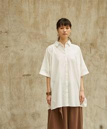 miette(ミエット)のドルマン比翼オーバーサイズシャツ(シャツ/ブラウス)