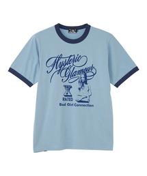 HG X-RATED Tシャツサックスブルー