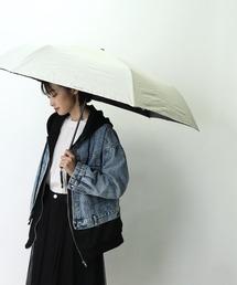 【 CONVERSE / コンバース 】 晴雨兼用 ユニセックス折りたたみ日傘 CON-MT-58M OGW ・・ホワイト×ホワイト