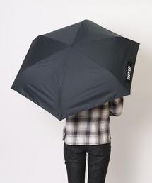 【 CONVERSE / コンバース 】 晴雨兼用 ユニセックス折りたたみ日傘 CON-MT-58M OGW ・・ブラック×ブラック