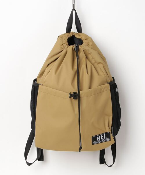 【 MEI / メイ 】 SUSTAINABLE SNAP BAG サスティナブル スナップバッグ バックパック リュック