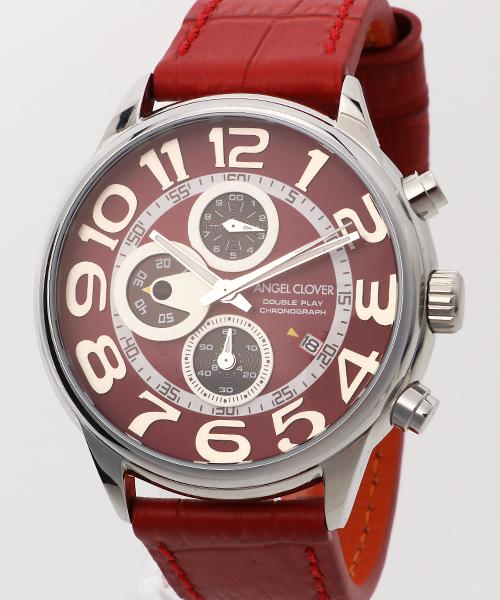 Angel Clover DOBLE PLAY/ダブルプレイ 腕時計 DP44SRE-REN メンズ