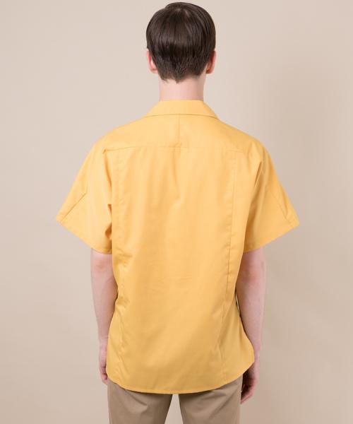 【MANGROVE】オープンカラードルマンスリーブシャツ