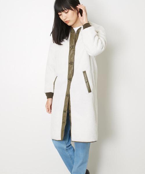 アメリカンラグシー AMERICAN RAG CIE / ボアロングジャケット Boa Long Jacket