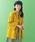 Jocomomola(ホコモモラ)の「キラリンピーチ カラーショートコート(ステンカラーコート)」|詳細画像