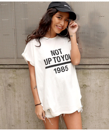 ANAP(アナップ)のロールアッププリントTシャツ(Tシャツ/カットソー)