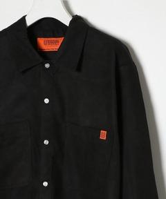 ユニバーサルオーバーオール UNIVERSAL OVERALL / オープンカラーロングスリーブシャツ OPEN COLLAR LONG SLEEVE SHIRTS