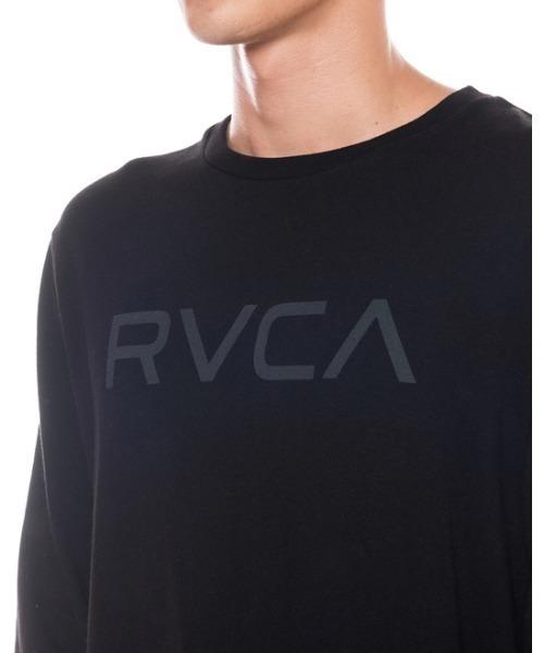 RVCA Mens Big RVCA Long Sleeve T-Shirt