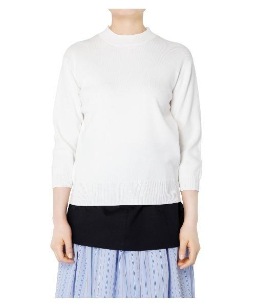 LE CIEL BLEU(ルシェルブルー)の「Soubari Knit Tops(ニット/セーター)」|詳細画像